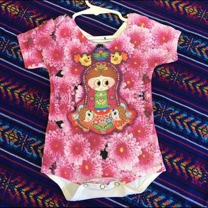 Baby Onesie Our Lady of Guadalupe 9-12 months girl